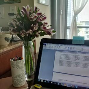 writer's block fleurs